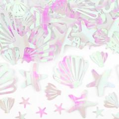 Confetti Iridescent Coquillage