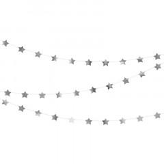 Guirlande étoile Argent 3.6 m