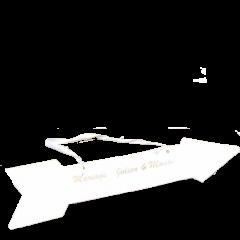 x4 Pancarte flèche personnalisée
