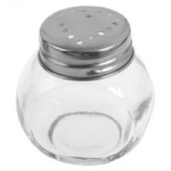 2 pots ronds transparent