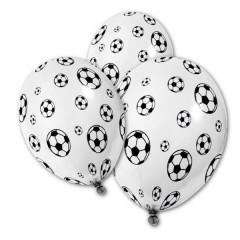 5x Ballon de baudruche football