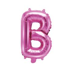 Ballon rose lettre B - 36 cm