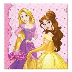 20 Serviettes anniversaire princesses Disney