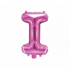 Ballon rose lettre I - 36 cm