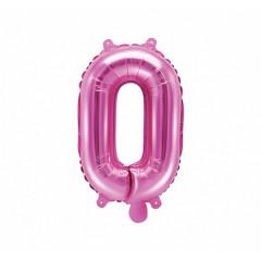 Ballon rose lettre O - 36 cm