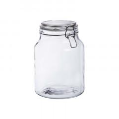 Bonbonnière en verre fermeture metal 3L