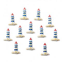 12 mini phares 3 cm
