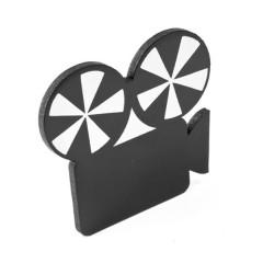 x1 Ardoise marque place caméra cinéma