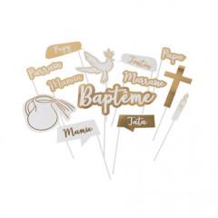 Kit photobooth baptême