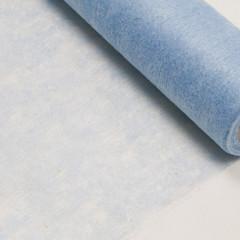 Chemin de table bleu ciel intisse en rouleau 10m x 29cm