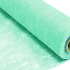 Chemin de table vert menthe intisse en rouleau 10m x 29cm
