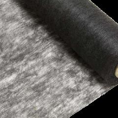Chemin de table noir intisse en rouleau 10m x 29cm