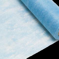 Chemin de table turquoise intissé en rouleau 10m x 29cm