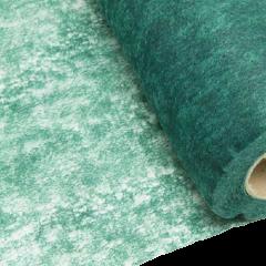 Chemin de table vert sapin Intissé en rouleau 10m x 29cm