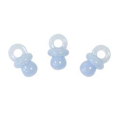x10 Tétines décoratives bleu