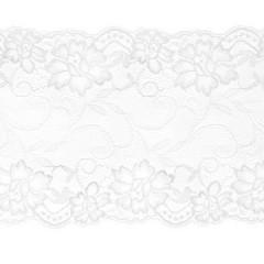Ruban de dentelle blanche - 9 m