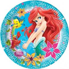 8 assiettes Ariel La petite Sirène
