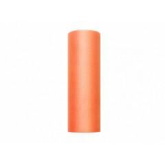 Rouleau de tulle orange