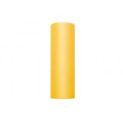Rouleau de tulle jaune - 15 cm x 9 m