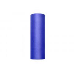 rouleau de tulle bleu marine