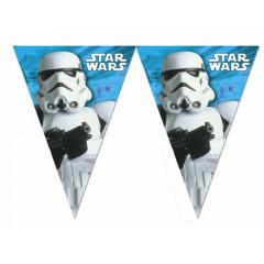 Guirlande à fanions Stormtroopers Star Wars