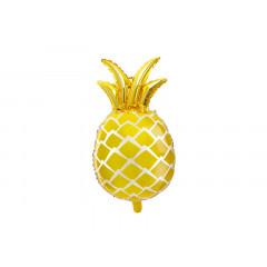Ballon ananas jaune gold