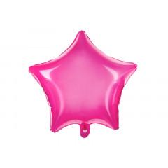 Ballon Mylar Etoile fuchsia