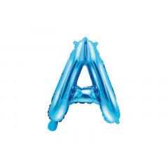 Ballon bleu lettre A - 36 cm
