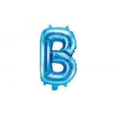 Ballon bleu lettre B - 36 cm