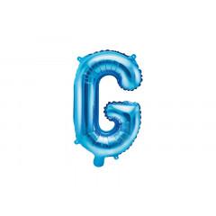 Ballon bleu lettre G - 36 cm