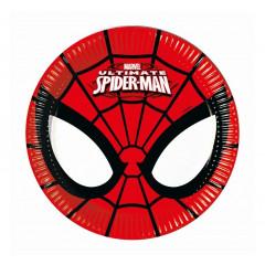 Assiettes Spiderman 20 cm