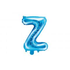 Ballon bleu lettre Z - 36 cm