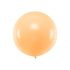 Ballon géant de Baudruche 1m Pêche Pastel