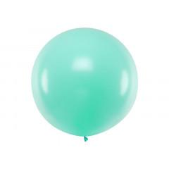 Ballon géant de Baudruche 1 mètre Menthe Pastel