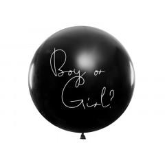 """Ballon géant baudruche """"Boy or Girl ?"""" Garçon 1m"""