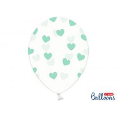 Ballon de baudruche coeur Heart Menthe
