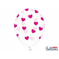 Ballon de baudruche coeur Heart Fuchsia