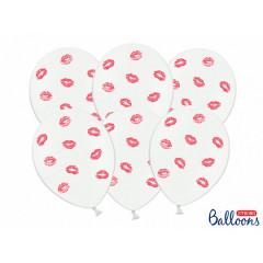 Ballon de baudruche lèvres lips rouge