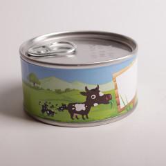 Boite conserve animaux ferme