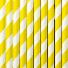 Paille blanche et jaune