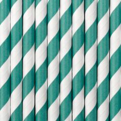 Paille blanche et verte