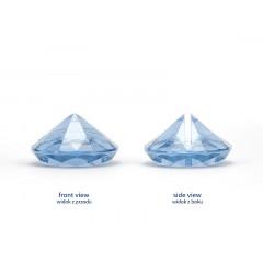 Marque place diamant bleu ciel