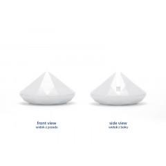 Marque place diamant blanc