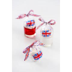 4 boules transparentes - Angleterre