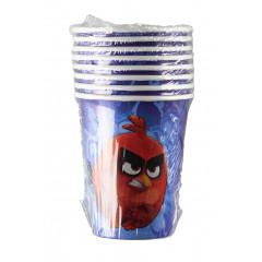 8 gobelets Angry Birds - 266 ml