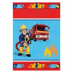 8 sacs fête sam le pompier