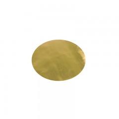 Set de table effet cuir or x2