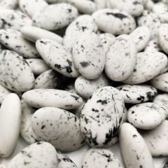 Dragées française chocolat 50% - Blanc moucheté – 1kg