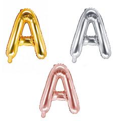 Ballon lettre A - 36cm - coloris au choix