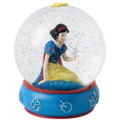 Figurine de collection Blanche Neige boule à neige